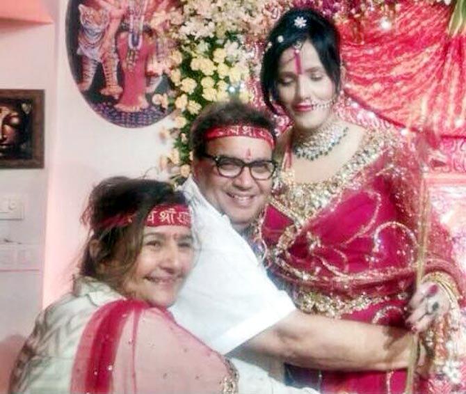 वादग्रस्त राधे माँची वेबसाइड हॅक; स्कर्टमधील फोटो टाकून शिव्या घातल्या|मुंबई,Mumbai - Divya Marathi