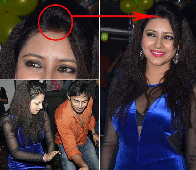 पार्टीत बॉयफ्रेंड राहुल राजसोबत अभिनेत्री प्रत्युषा बॅनर्जी - Divya Marathi