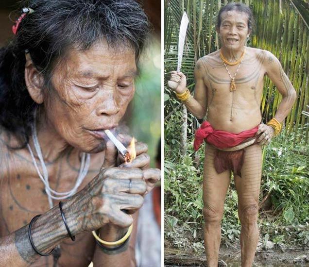 PHOTOS: फोटोग्राफरने दाखवली इंडोनेशियामधील जमातीची अशी LIFE|देश,National - Divya Marathi