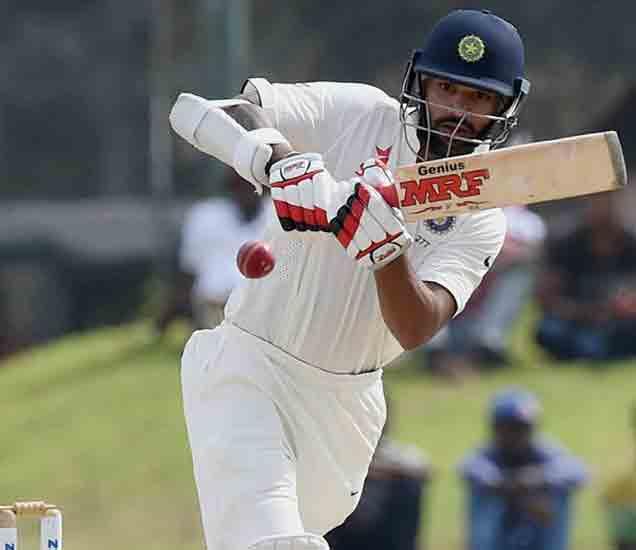 LIVE IND vs SL: पहिला दिवस अश्विन-शिखरचा,श्रीलंका बॅकफुटवर|स्पोर्ट्स,Sports - Divya Marathi