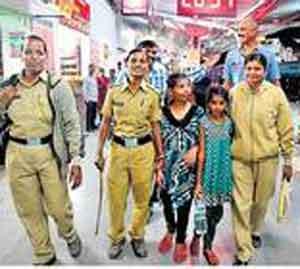 नाशिक येथून गायब झालेल्या दोन मुली औरंगाबाद रेल्वेस्थानकावर सापडल्या|औरंगाबाद,Aurangabad - Divya Marathi