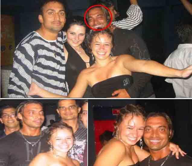 ऑस्ट्रेलियाच्या एका बारमध्ये पार्टी करताना शोएब अख्तर. - Divya Marathi