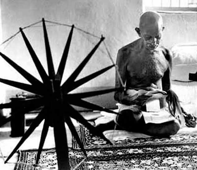 बापूंच्या या आंदोलनाची लादेन देत होता चेल्यांना शिकवण, विदेशी वस्तूंची केली होती होळी देश,National - Divya Marathi