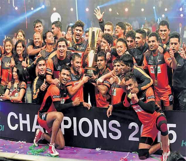 PHOTOS: प्रो कबड्डी लीगमध्ये अनुपम विजयासह यू मुंबाने पटकावले अजिंक्यपद|स्पोर्ट्स,Sports - Divya Marathi