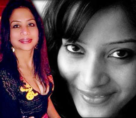 फाइल फोटो - शीना बोरा आणि इंद्राणी मुखर्जी(डावीकडे) - Divya Marathi