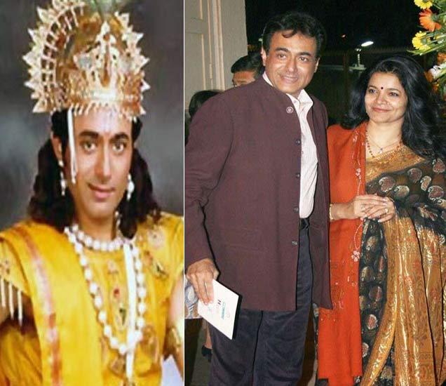 हे आहेत TVचे कृष्ण, पहिल्या पत्नीला घटस्फोट देऊन IAS सोबत केले होते लव्ह मॅरेज|टीव्ही,TV - Divya Marathi