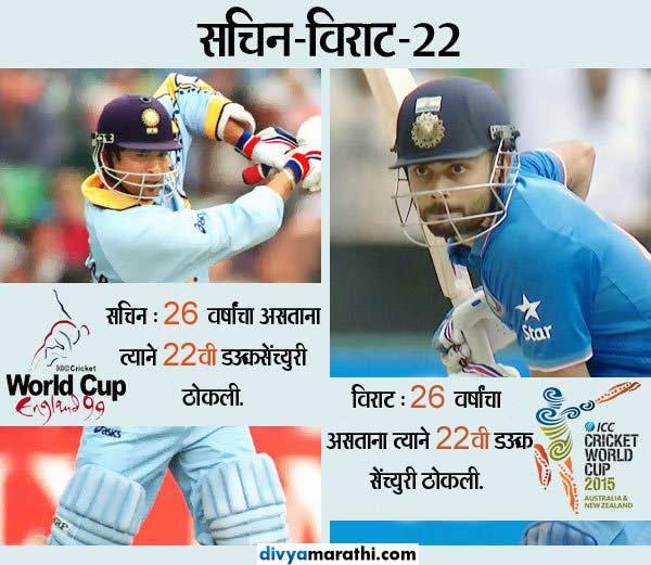 क्रिकेट जगतातील 14 COINCIDENCE, काळ वेगळा, पण घडले सर्व एक समान|स्पोर्ट्स,Sports - Divya Marathi