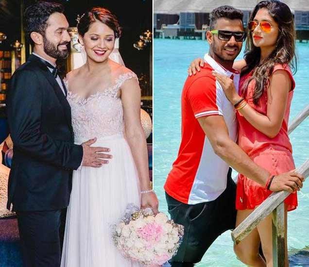 10 क्रिकेटर्स आणि त्यांच्या WIFE, तुम्हीच ठरवा कोण आहे सर्वात स्टायलिश आन् द्या व्होट !|स्पोर्ट्स,Sports - Divya Marathi