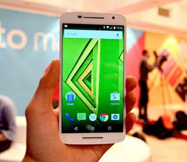 Motorola ने भारतात लॉन्च केला  Moto X Play स्मार्टफोन, 21MP कॅमेरा|बिझनेस,Business - Divya Marathi