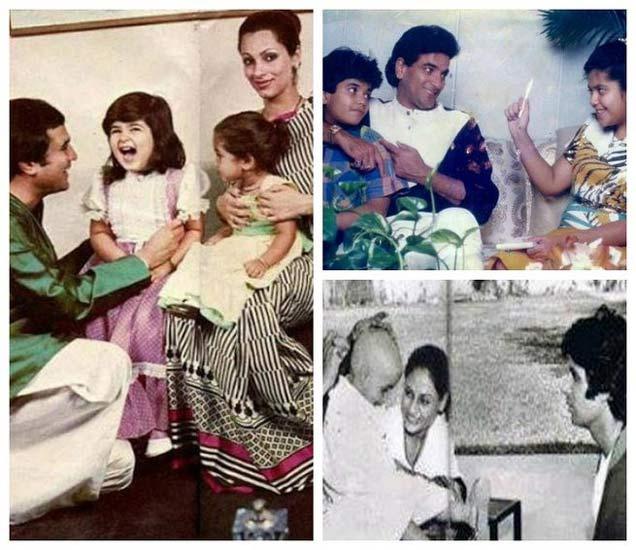 Old Memories: पाहा जितेंद्र, बिग बींसह हे सेलेब्स कुटुंबीयांसोबत कसे घालवायचे निवांत क्षण| - Divya Marathi