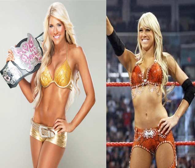 रिंगमध्ये फाइटर तर बाहेर सौंदर्याचा खजिना आहेत या WWE Divas स्पोर्ट्स,Sports - Divya Marathi