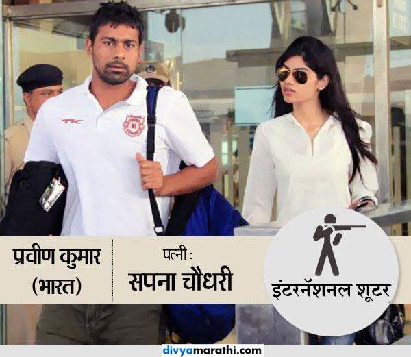 कुणी शूटर तर कुणी कराटे चॅम्प, जाणून घ्या, कोणत्या खेळात आहेत या क्रिकेटर WAGs स्पोर्ट्स,Sports - Divya Marathi
