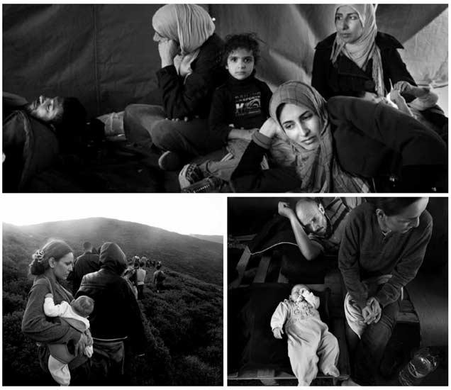 PHOTOS : सिरियातून ग्रीसला जाणाऱ्या शरणार्थींचा असा असतो पहिला दिवस|विदेश,International - Divya Marathi