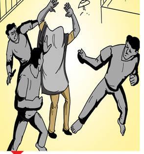 एक पाहरेकरी डबा आणायला जाताच दुसऱ्याला गुंगारा देवून कैदी पळाले|औरंगाबाद,Aurangabad - Divya Marathi