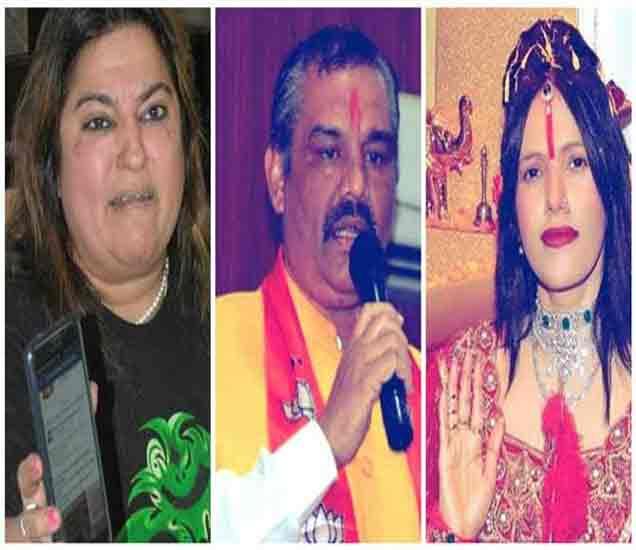 मंत्री सांपला करताहेत राधे माँला वाचवण्याचा प्रयत्न, डॉली बिंद्राचा आरोप देश,National - Divya Marathi