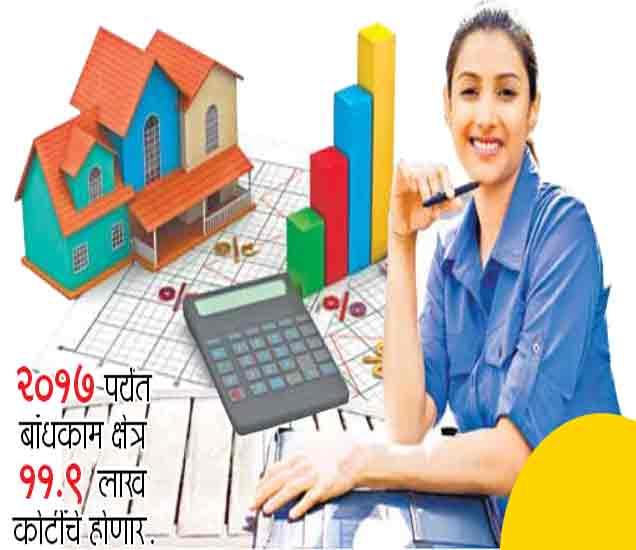करिअर कॉर्नर : रिअल इस्टेट क्षेत्रात प्रत्येक वर्षी 50 लाख लोकांना रोजगार  - Divya Marathi