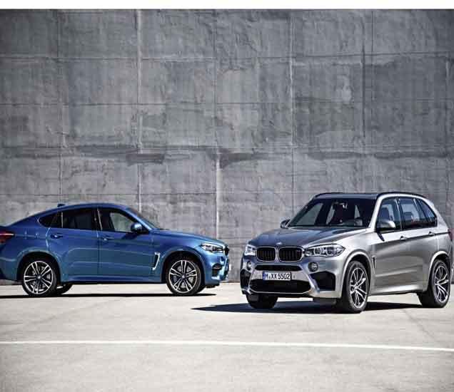 BMW ने भारतात लॉन्च केली X5 M आणि X6 M कार, किंमत 1.55 कोटी... ऑटो,Auto - Divya Marathi