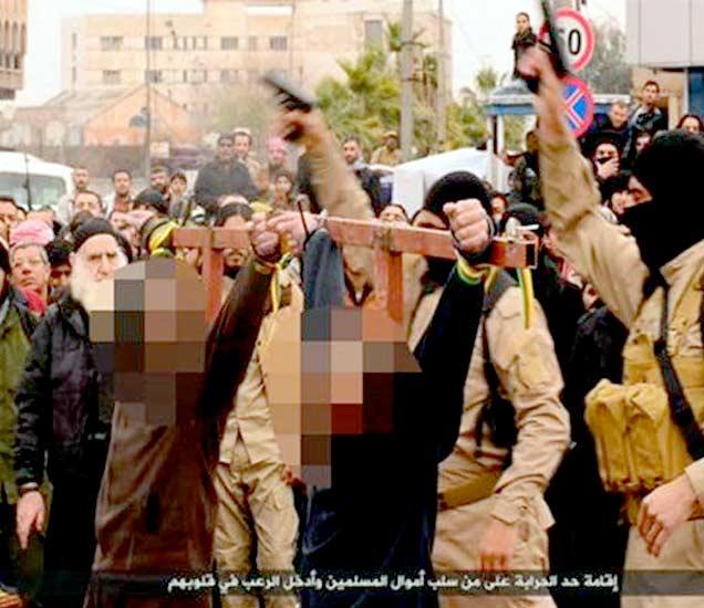 क्रूर ISIS दहशतवाद्यांचे स्वतंत्र पोलिस, आदेश फेटाळणा-यांना देते फाशी|विदेश,International - Divya Marathi