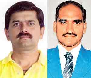 मकरंद जोशी आणि डॉ. उदय डोंगरे - Divya Marathi