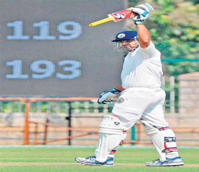 रणजी :महाराष्ट्राविरुद्ध राजस्थानच्या पहिल्या डावात ५/२५८ धावा स्पोर्ट्स,Sports - Divya Marathi