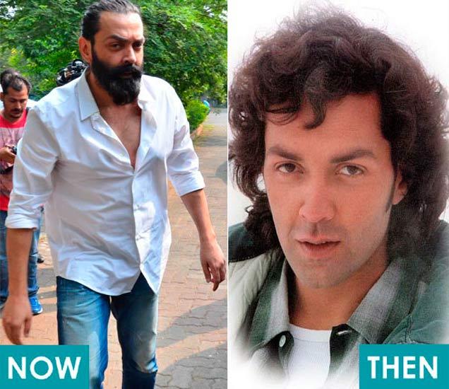 Then&Now: पदार्पण सिनेमा ते आतापर्यंत इतका बदलला बॉलिवूड अभिनेत्यांचा Look|देश,National - Divya Marathi