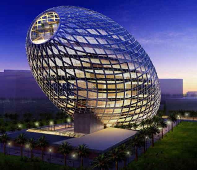 आपल्या अद्भुत बनवाटीसाठी प्रसिध्द आहेत जगातील या 6 इमारती...| - Divya Marathi
