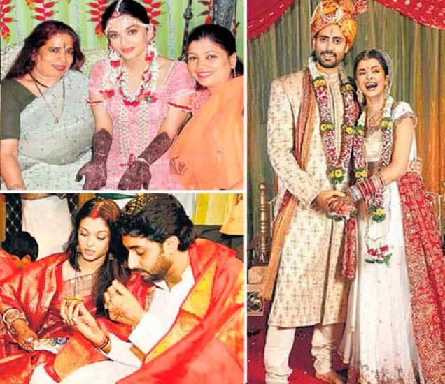 मेंदीपासून ते विदाईपर्यंत, पाहा ऐश्वर्या-अभिषेकचा Wedding Album|देश,National - Divya Marathi