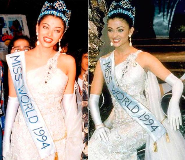 86 देशांच्या मॉडेल्सना पछाडत ऐश्वर्या बनली होती Miss World, पाहा 1994चे फोटो|देश,National - Divya Marathi