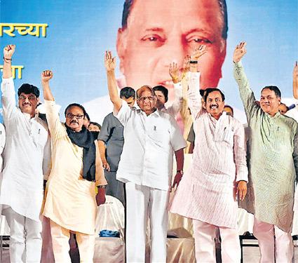 लोकांनी सत्ता दिली, देश नाही; सत्तेचा दर्प आणू नये : शरद पवार मुंबई,Mumbai - Divya Marathi
