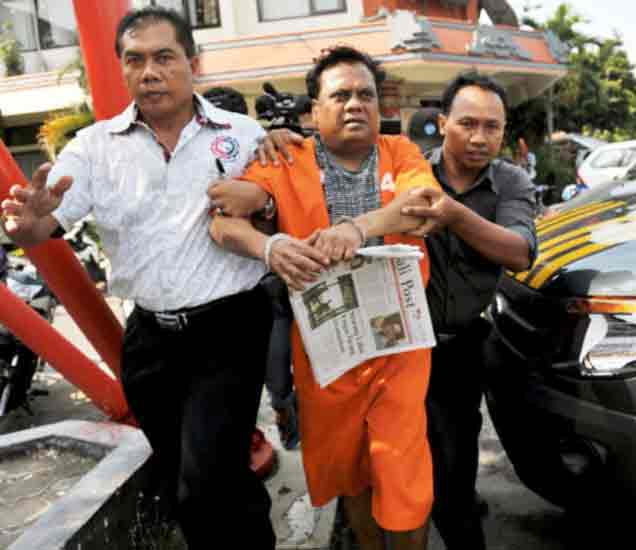 बाली पोलिसांनी पकडलेला छोटा राजन - Divya Marathi