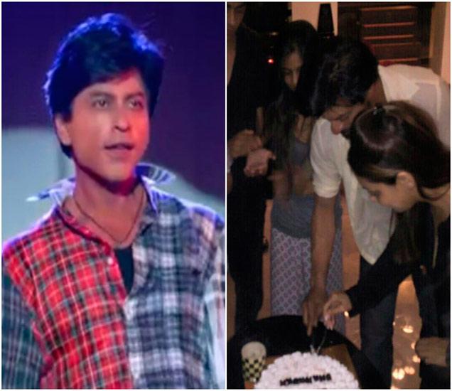शाहरूख खानला मिळालं कुटूंबाकडून सरप्राइज, SRKच्या B'dayला आला FANचा second teaser| - Divya Marathi