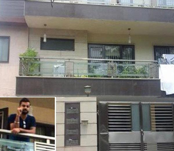 असे आहे विराट कोहलीचे घर, हे पाहा PHOTOS स्पोर्ट्स,Sports - Divya Marathi