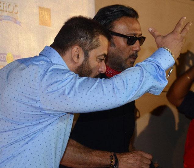 सलमान खान आणि जॅकी श्रॉफ - Divya Marathi