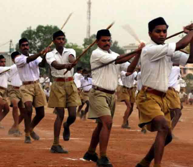 Analysis बिहार निकाल: संघाची काठी भाजपच्या पाठी|देश,National - Divya Marathi