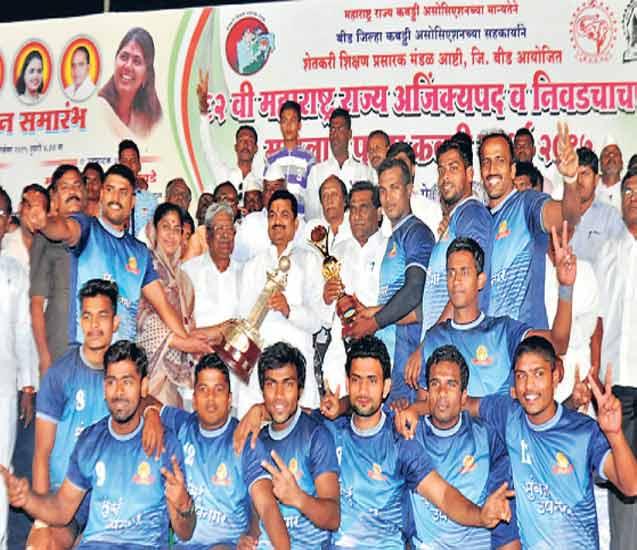 अजिंक्यपद कबड्डी स्पर्धा; पुरुष गटात मुंबई, महिलांत पुणे अजिंक्य|स्पोर्ट्स,Sports - Divya Marathi