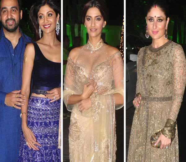 PARTY TIME: शिल्पा शेट्टीच्या दिवाळी पार्टीत दिसली करीना, सोनम समवेत अनेक बॉलिवूड कलाकार|देश,National - Divya Marathi