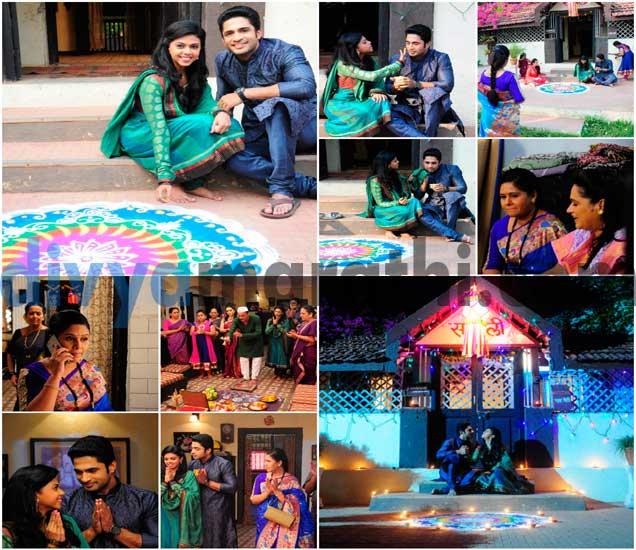 PHOTOS:नील-स्वानंदीचं Romantic लक्ष्मीपूजन, ललिताची भीती पडली पथ्यावर मराठी सिनेकट्टा,Marathi Cinema - Divya Marathi