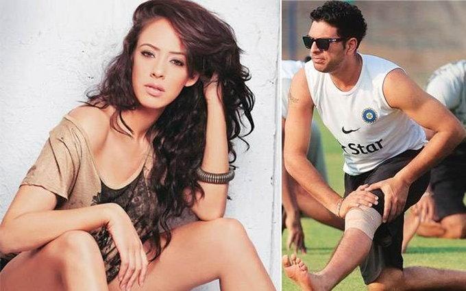 भज्जीपाठोपाठ युवीची विकेट, दिवाळीलाच उरकला हेजलबरोबर साखरपुडा स्पोर्ट्स,Sports - Divya Marathi