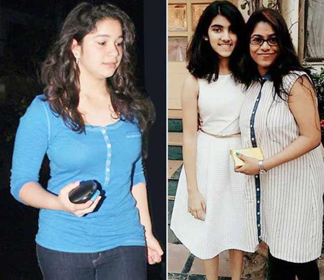 सचिन तेंडुलकरची मुलगी सारा (डावी कडून) आणि सौरव गांगुलीची मुलगी सना (उजवी कडून). - Divya Marathi