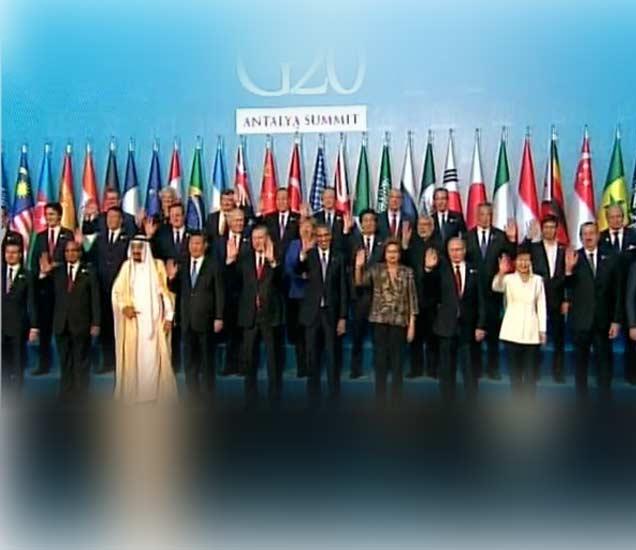 #G20 : बराक ओबामा म्हणाले, पॅरिस हल्ल्याच्या दोषींना धडा शिकवू|विदेश,International - Divya Marathi