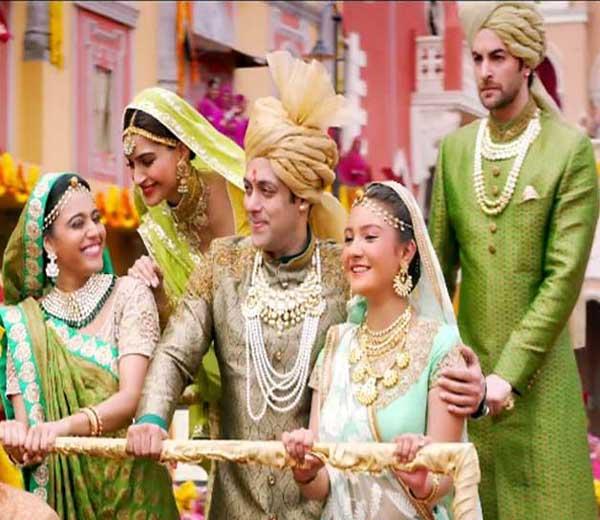 प्रेम रतन धन पायो चित्रपटातील एक क्षण... - Divya Marathi