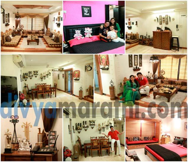 Celebrity Home: पाहा, Choreographer उमेश जाधवचे Dream Home|मराठी सिनेकट्टा,Marathi Cinema - Divya Marathi