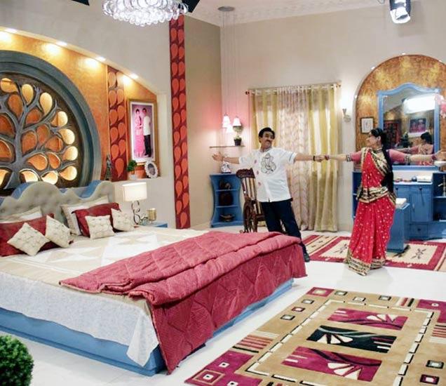 दया-जेठालाल यांचे बेडरुम - Divya Marathi