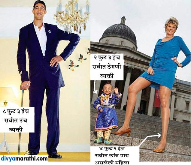 जगातील हे चित्र-विचित्र गिनीज वर्ल्ड रेकॉर्ड्स, कदाचित तुम्हालाही माहित नसावेत...  - Divya Marathi