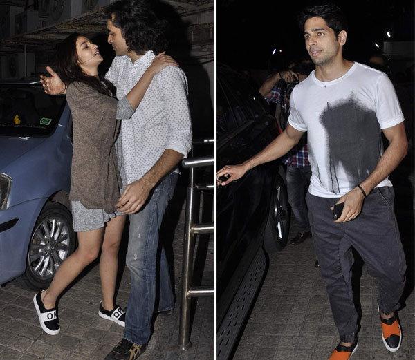 'बाजीराव..'साठी उत्सूक आहे प्रियांका, पार्टी एन्जॉय करताना दिसले आलिया-सिध्दार्थ| - Divya Marathi
