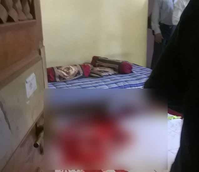 औरंगाबादेत भरदिवसा महिलेची निर्घृण हत्या; दरोडेखोराने चिरला गळा|औरंगाबाद,Aurangabad - Divya Marathi
