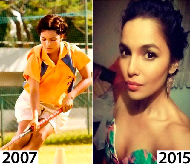 OMG! 8 वर्षांत इतकी बदलली \'चक दे इंडिया\'ची कोमल चौटाला, पाहा PHOTOS|देश,National - Divya Marathi