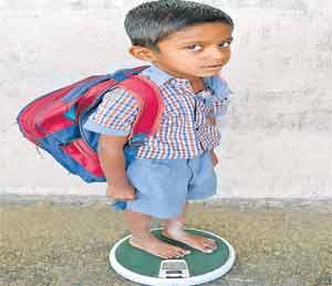 तिसरीतील विद्यार्थ्यांच्या पाठीवर ५ किलोचे ओझे, शिक्षण विभागाचा नुसताच दावा|औरंगाबाद,Aurangabad - Divya Marathi