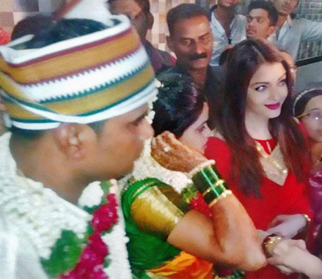 बॉडीगार्डच्या लग्नात ऐश्वर्या राय बच्चन - Divya Marathi