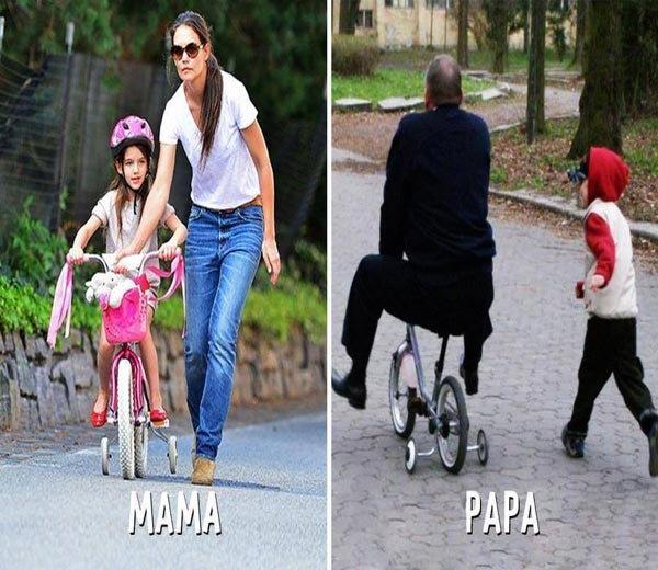 Funny: 'मम्मी Vs पपा'मधील फरक पाहून तुम्ही पोट धरुन हसाल  - Divya Marathi